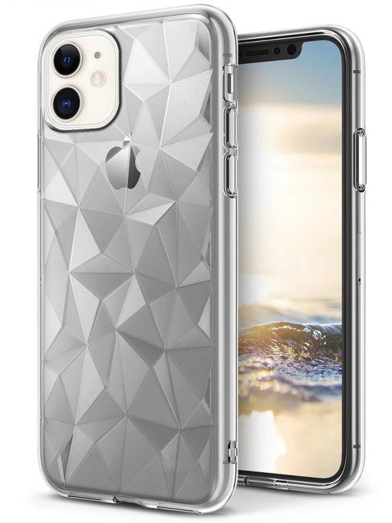 Etui Do Iphone 11 Przeźroczyste Diamentowe Kryształowe Pryzmaty