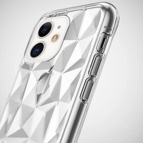 etui do iphone 11 przeźroczyste diamentowe kryształowe pryzmaty 2