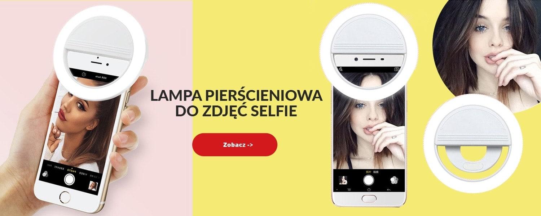 Lampa Pierścieniowa Do Zdjęć Selfie