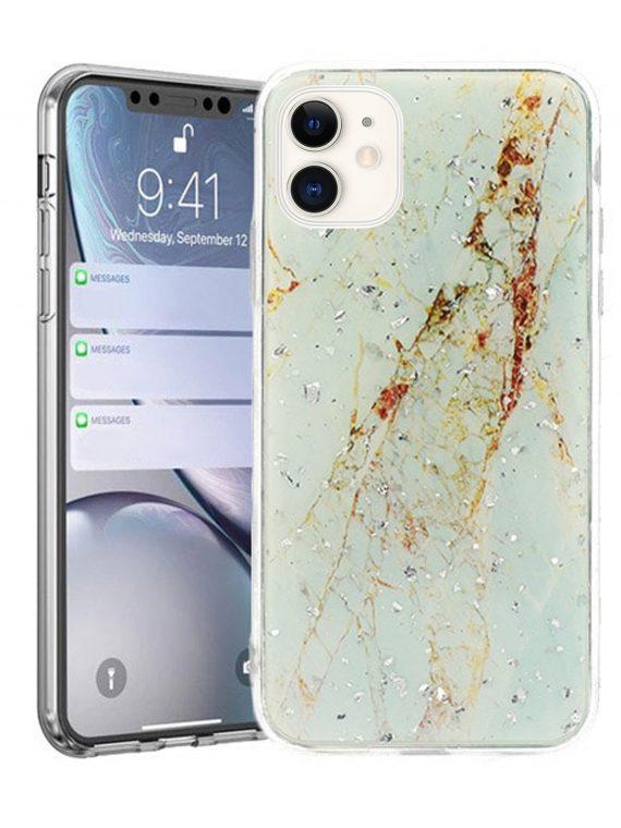 Etui Iphone 11 Marmurkowe Jasny