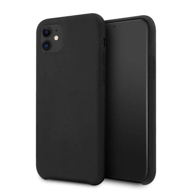 Etui Iphone 11 Silikonowe Czarny