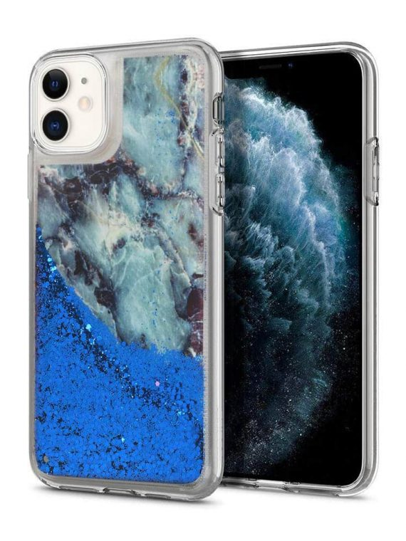 Etui Iphone 11 Silikonowy Marmur 2