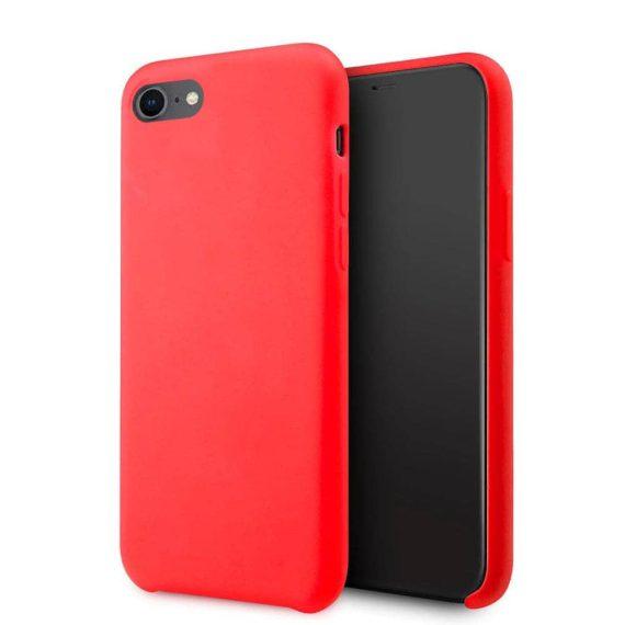 Etui Iphone 7 8 Silikonowe Czerwone