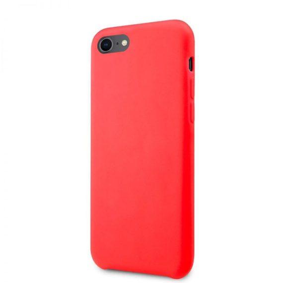 Etui Iphone 7 8 Silikonowe Czerwone 2
