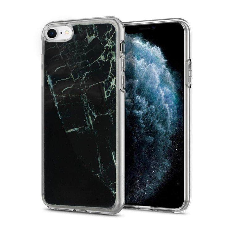 Etui Iphone 7 8 Silikonowy Marmur 1
