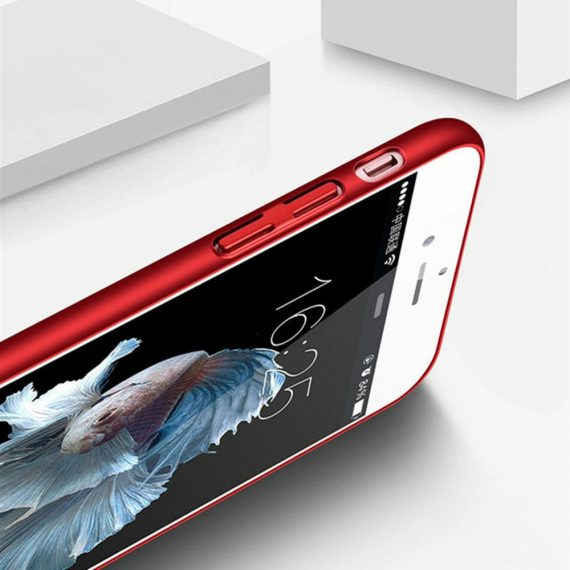 Etui Iphone 7 8 Oddychające Kolor Czerwony 5