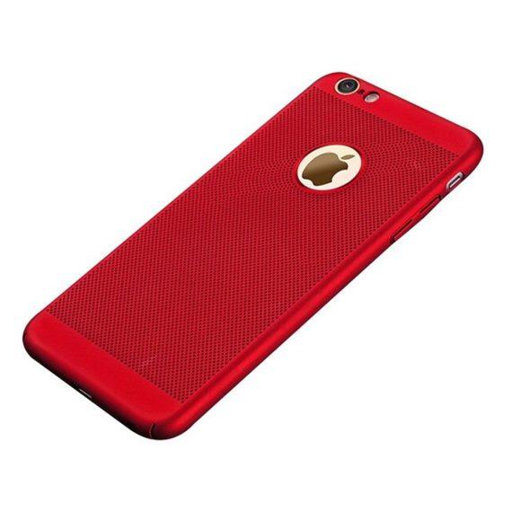 Etui Iphone 7 8 Oddychające Kolor Czerwony 6