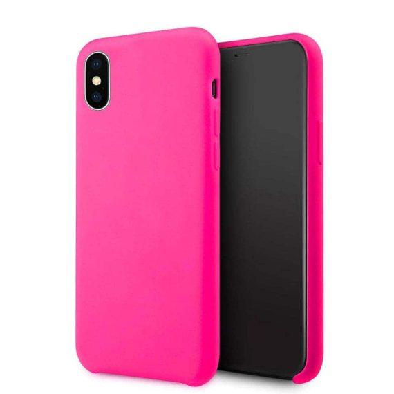 Etui Iphone Silikonowe Różowe