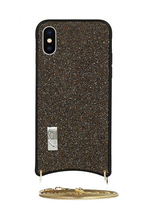 Etui Iphone X Xs Torebka Brązowa