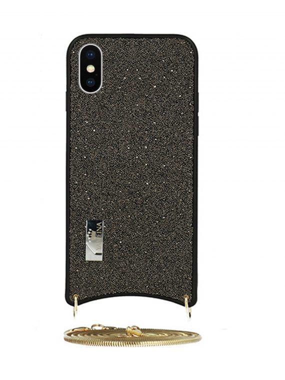 Etui Iphone X Xs Torebka Szara
