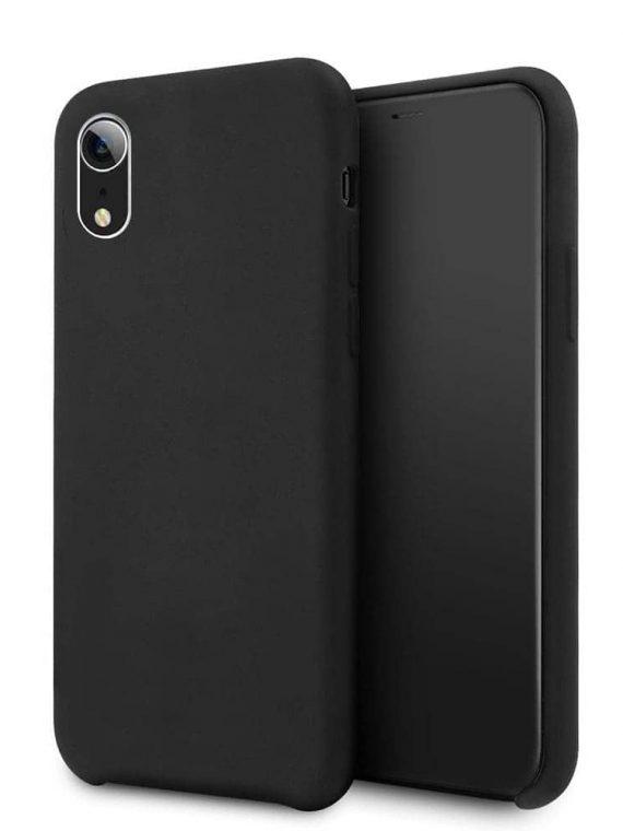 Etui Iphone Xr Silikonowe Czarny