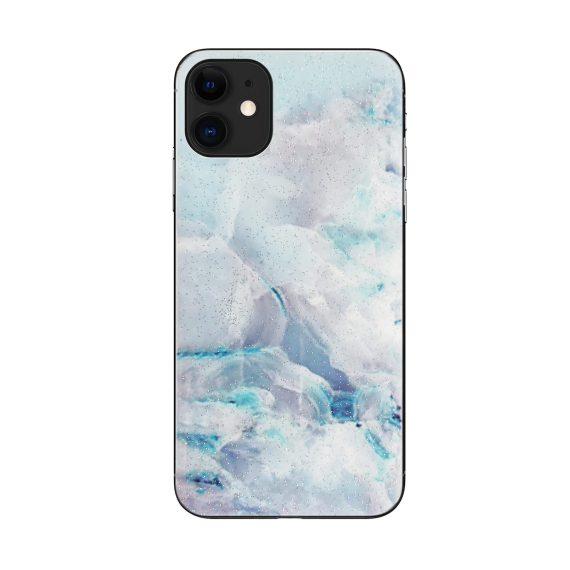 Etui do iPhone 11 prawdziwy marmur szaro-zielony