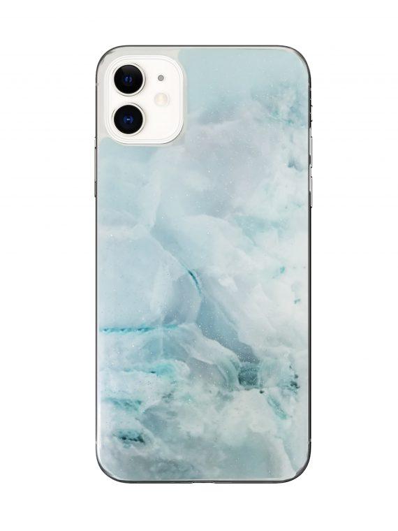 Etui Iphone 11 Marmur Niebieski