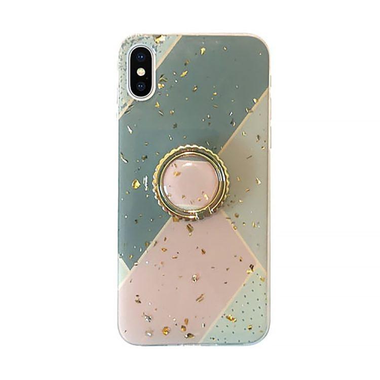 Etui Iphone X Xs Luksusowy Brokat Zielony 2