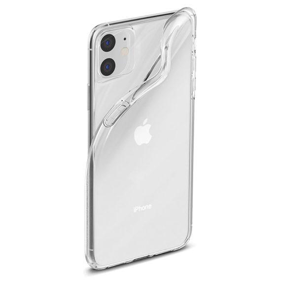 Etui Iphone 11 Transparentne Przezroczyste 3