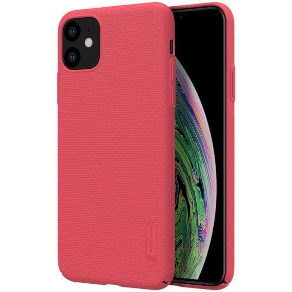 Etui do iPhone 11 czerwone matowe ochronne