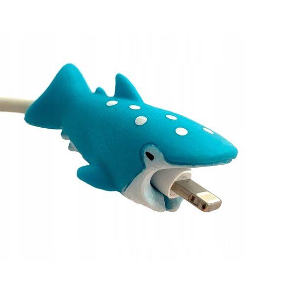 Osłonka zabezpieczenie na kabel lightning ładowarkę zwierzątko Rekin