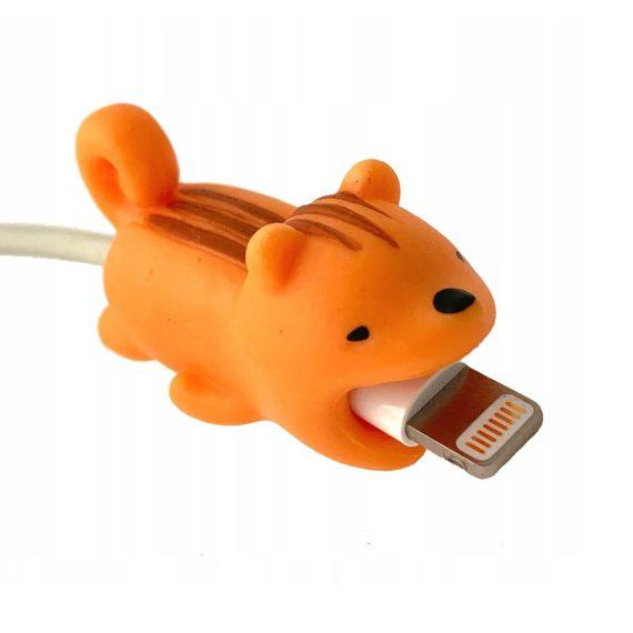 Osłonka zabezpieczenie na kabel lightning ładowarkę zwierzątko Wiewiórka
