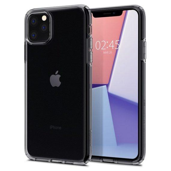 Etui do IPhone 11 Pro Max przydymione Liquid Crystal Dark