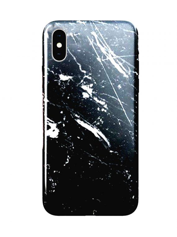 Etui Iphone X Xs Marmur Czarny Scaled Boost