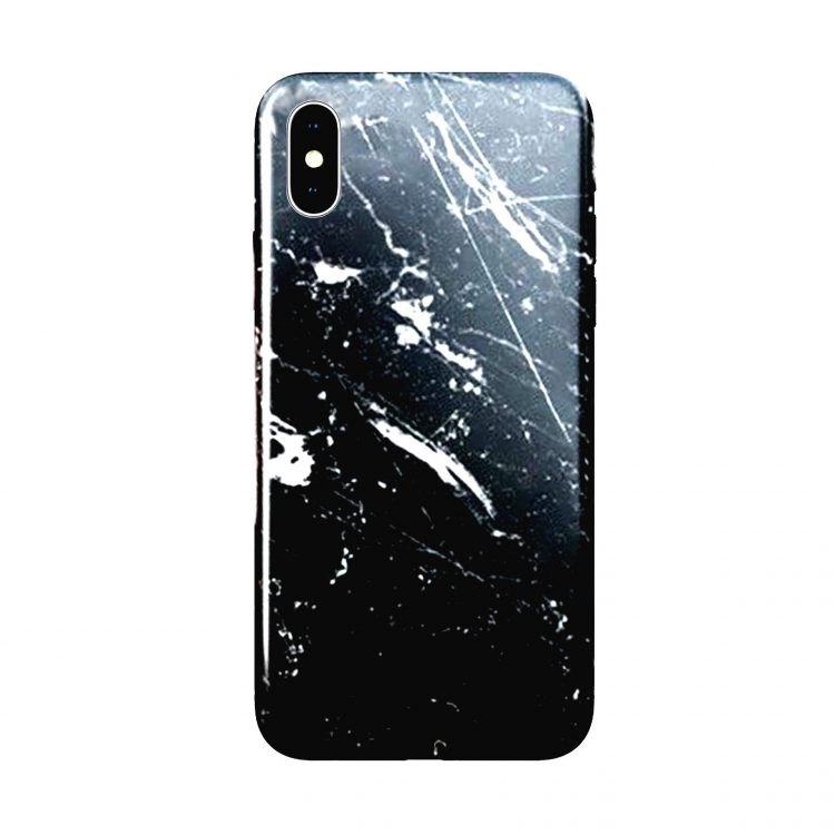 Etui Iphone X Xs Marmur Czarny Scaled Boost
