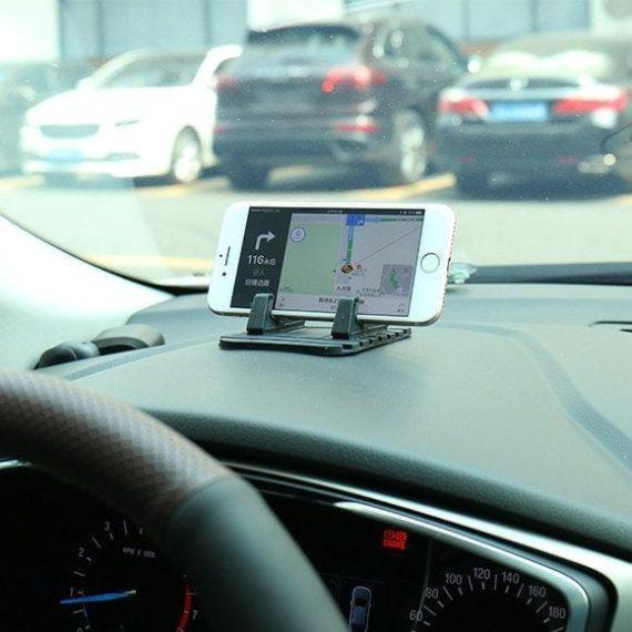 Pol Pl Uniwersalny Uchwyt Samochodowy Silikonowa Podstawka Na Telefon Nano Pad Czarny 54033 8