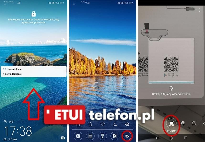 Qr Kod Na Huawei