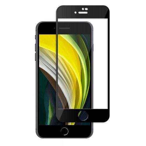 Szkło Hartowane Full Glue Iphone Se 2020 8 7 Czarne