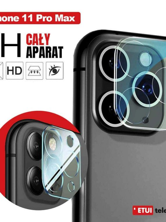 Szklo Ochronne Iphone 11 Pro Max Na Kamere