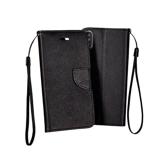 Etui do IPhone X/XS skórzane ochronne czarne