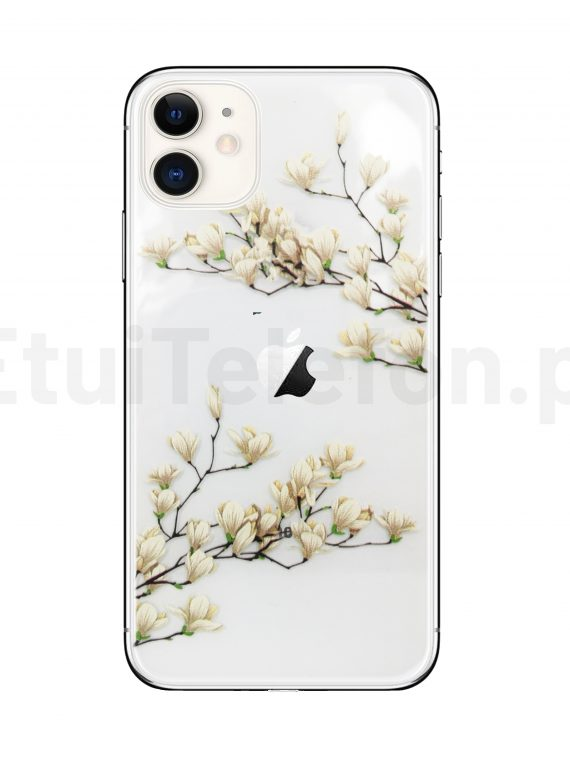 Silikonowe Etui (case) Z Kwiatami Magnolii Do Iphone 11