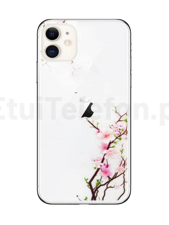 Silikonowe Etui (case) Z Kwiatami Wiśni Do Iphone 11 1