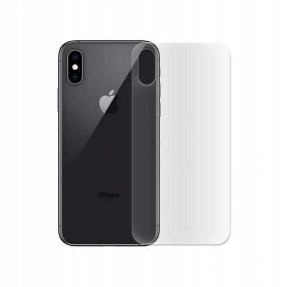 Folia hydrożelowa iPhone X/XS na tył nieszczerbiąca