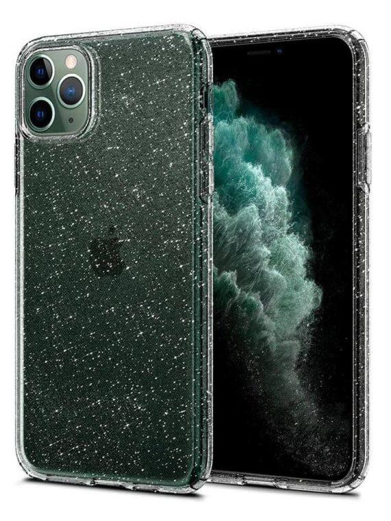 Etui Do Iphone 11 Pro Transparentne Przeźroczyste Z Brokatem Crystal Glitter 7