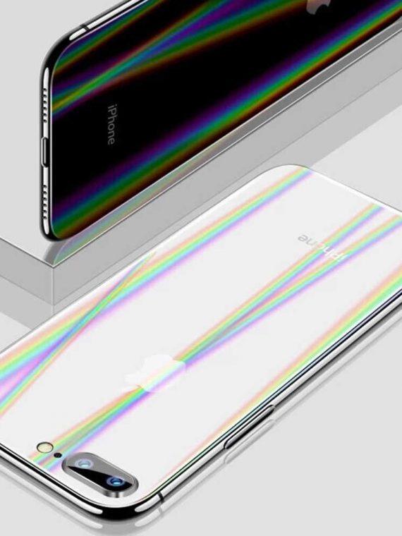 Folia Ochronna Na Ekran Z Powrotem Film Ochrony Gradientu Aurora Przejrzyste Dla Iphone Xs Max X.jpg Q50h
