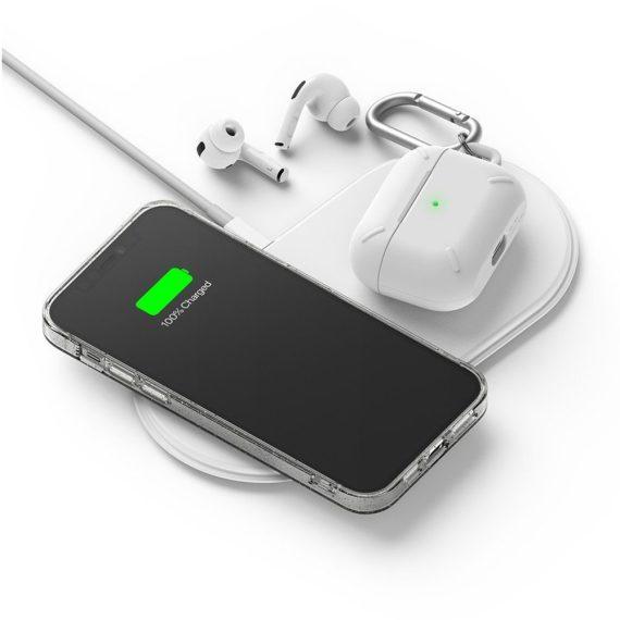 Etui Iphone 12 Pro Brokat Brokatowe Glitter Przezroczyste 4