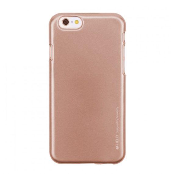 Etui do iPhone 6/6s silikonowe różowe złoto