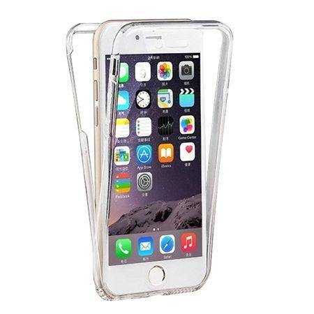 Etui Na Iphone 7 Silikonowe 360 Full Przod I Tyl Przezroczyste