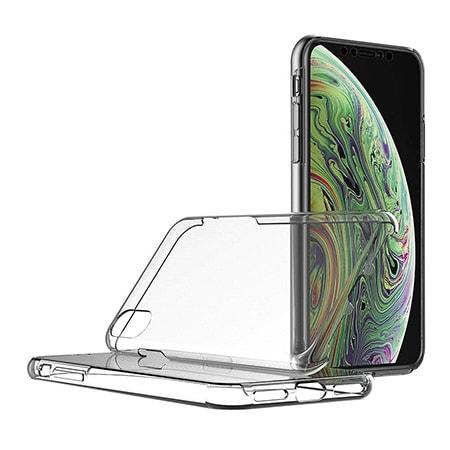 Etui Na Iphone Xr Silikonowe 360 Full Przod I Tyl Przezroczyste H