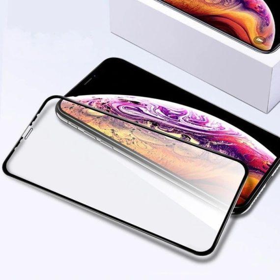 Szklo Hybrydowe Iphone 11 Hartowane 9d Ceramic Ful Zestaw Do Aplikacji Tak