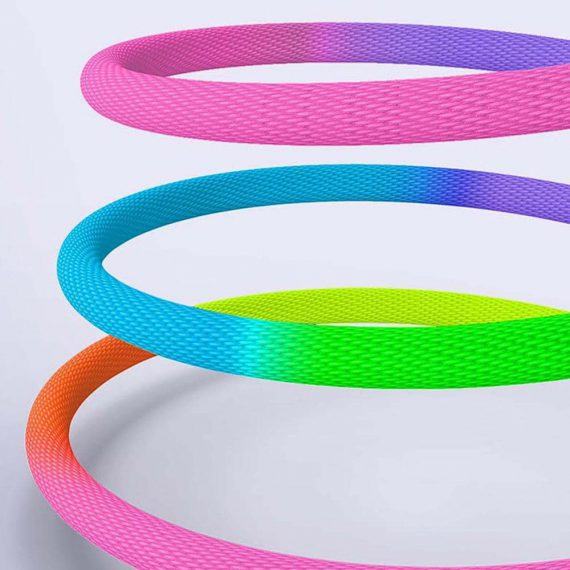 Cable Rainbow Ip 2 D
