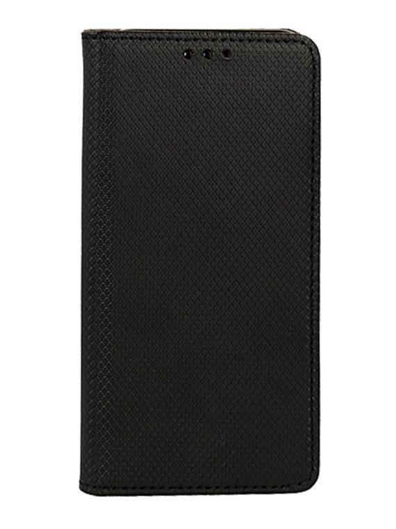 Etui Do Iphone 12 12 Pro Czarne Eleganckie Skórzane