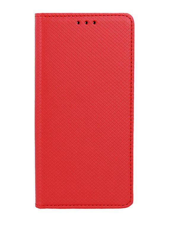 Etui Do Iphone 12 12 Pro Czerwone Eleganckie Skórzane