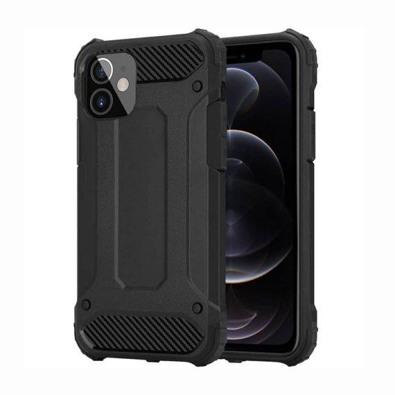 Etui do iPhone 12 Mini ochronne solidne czarne