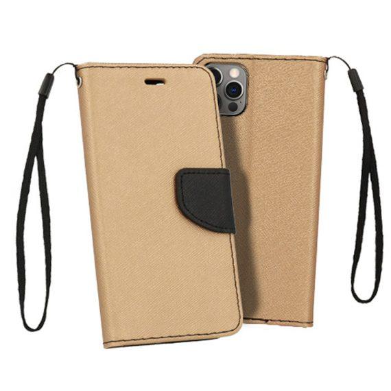 Etui do iPhone 12 Pro trwałe ochronne złoto-czarne