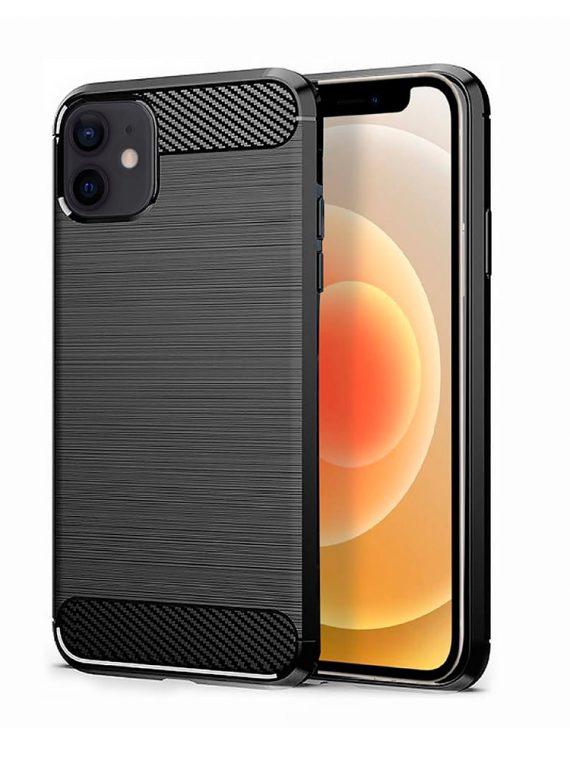 Etui Do Iphone 12 12 Pro Eleganckie Stylowe Czarne 1