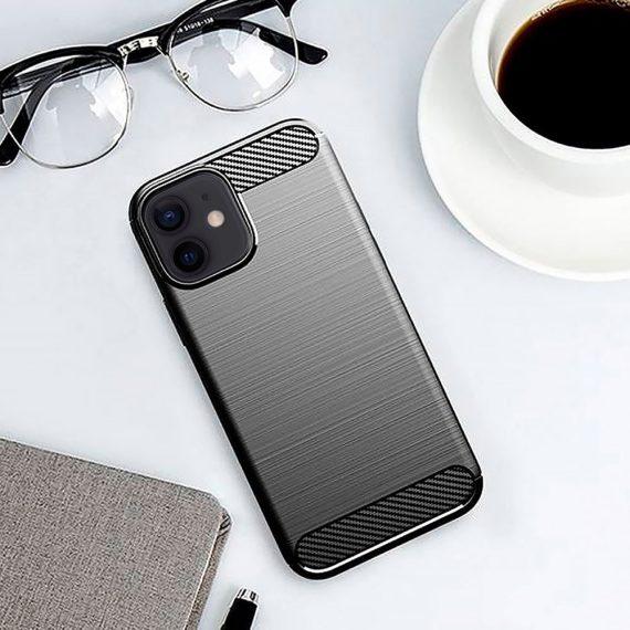 Etui Do Iphone 12 12 Pro Eleganckie Stylowe Czarne 5