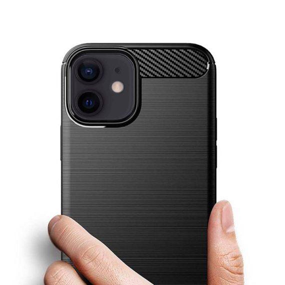 Etui Do Iphone 12 12 Pro Eleganckie Stylowe Czarne 6