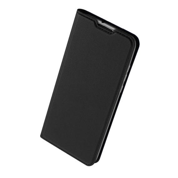 Etui do iPhone 12 Mini z klapką eleganckie czarne