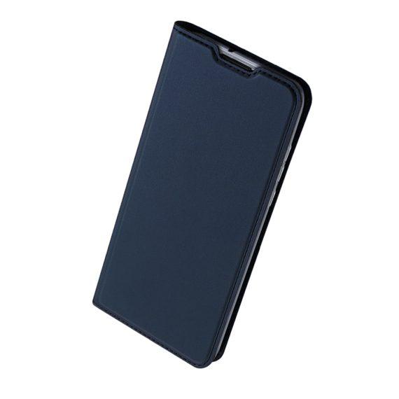 Etui do iPhone 12 Mini z klapką eleganckie niebieskie